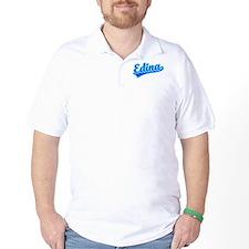 Retro Edina (Blue) T-Shirt