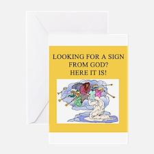 christian t-shirts gifts Greeting Card