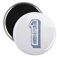 Blue Number 1 Birthday Magnet
