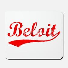 Vintage Beloit (Red) Mousepad