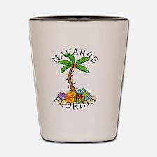 Funny Navarre beach Shot Glass