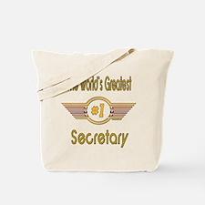 Number 1 Secretary Tote Bag