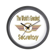 Number 1 Secretary Wall Clock