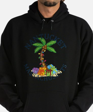 Cute Lighthouse christmas Hoodie (dark)