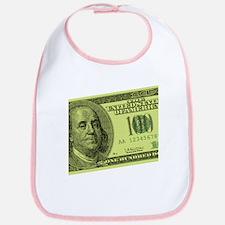 Hundred Dollar Bill Bib