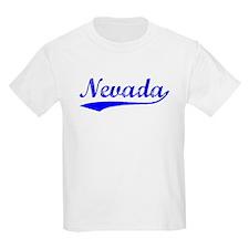 Vintage Nevada (Blue) T-Shirt