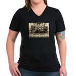 MP Women's V-Neck Dark T-Shirt