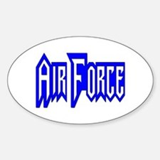 Air Force Oval Decal