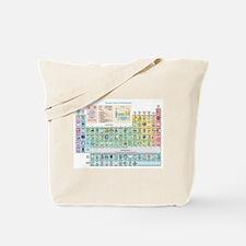 Unique Periodic table elements Tote Bag