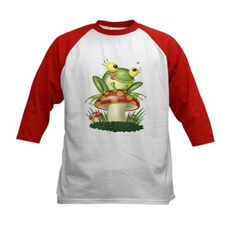 Toad Kids Design Kids Baseball Jersey