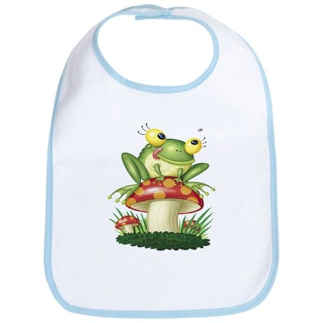 Toad Kids Design Bib