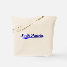 Vintage North Dakota (Blue) Tote Bag