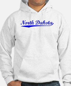 Vintage North Dakota (Blue) Hoodie