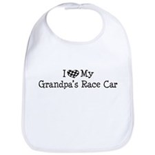 My Grandpas Race Car Bib