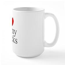 """""""I Love (Heart) Penny Stocks"""" Mug"""