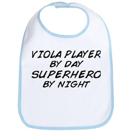 Viola Plyr Superhero by Night Bib