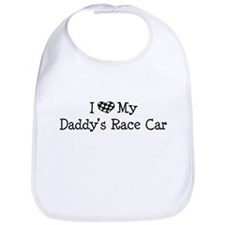 My Daddys Race Car Bib