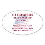 National Dispatchers Week Oval Sticker (50 pk)