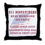National Dispatchers Week Throw Pillow