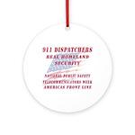 National Dispatchers Week Ornament (Round)