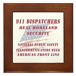 National Dispatchers Week Framed Tile