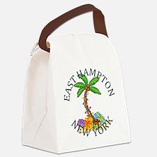 Funny East hampton Canvas Lunch Bag