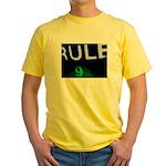 Rule 9 Yellow T-Shirt