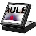 Rule 9 Keepsake Box
