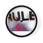 Rule 9 Wall Clock