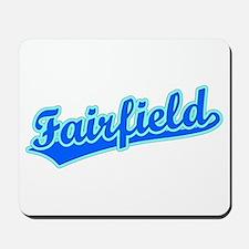 Retro Fairfield (Blue) Mousepad