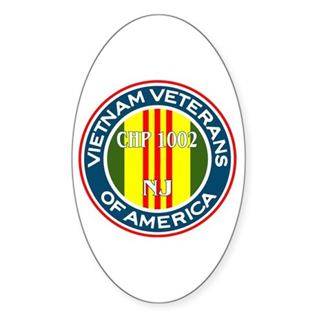 VVA Chp 1002 Oval Sticker