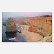 Twelve Apostles Coast Rectangle Decal