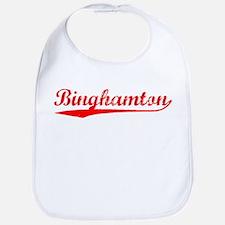 Vintage Binghamton (Red) Bib