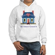 Chinese Crested Home Hoodie