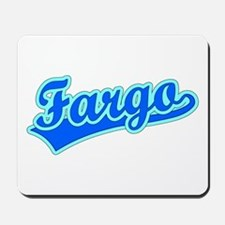Retro Fargo (Blue) Mousepad