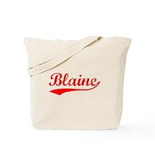 Vintage Blaine (Red) Tote Bag