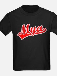 Retro Mya (Red) T