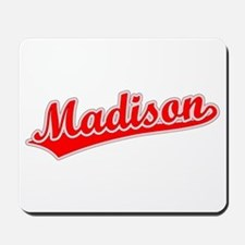 Retro Madison (Red) Mousepad