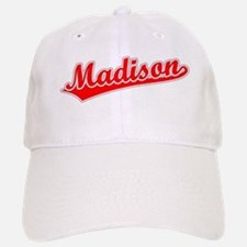 Retro Madison (Red) Baseball Baseball Cap