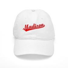 Retro Madison (Red) Baseball Cap