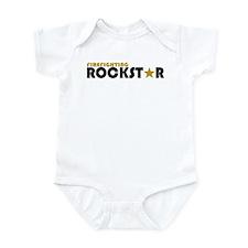 Firefighting Rockstar 2 Infant Bodysuit
