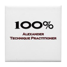 100 Percent Alexander Technique Practitioner Tile