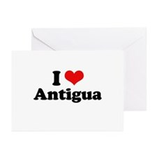 I love Antigua Greeting Cards (Pk of 20)
