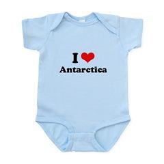 I love Antarctica Infant Bodysuit