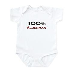 100 Percent Alderman Infant Bodysuit