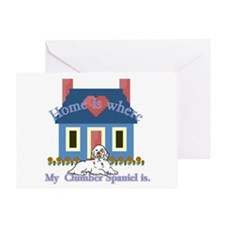 Clumber Spaniel Greeting Card