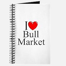 """""""I Love (Heart) Bull Market"""" Journal"""
