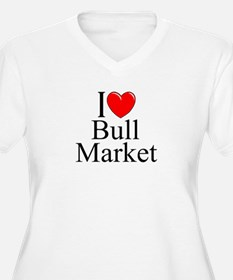 """I Love (Heart) Bull Market"" T-Shirt"