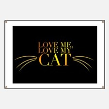 Love My Cat Banner