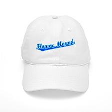 Retro Flower Mound (Blue) Baseball Cap